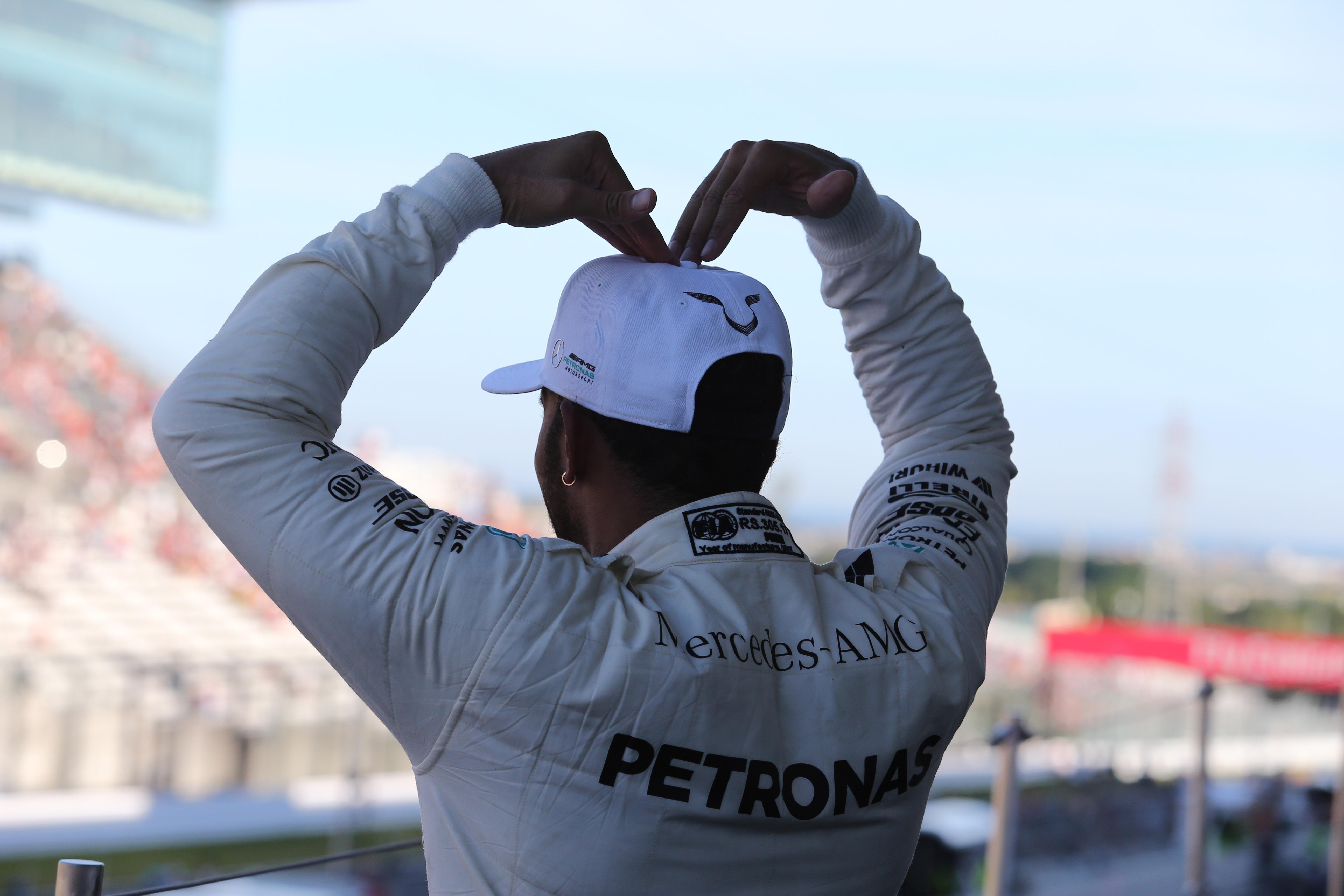 Lewis Hamilton, Mercedes, Mobot