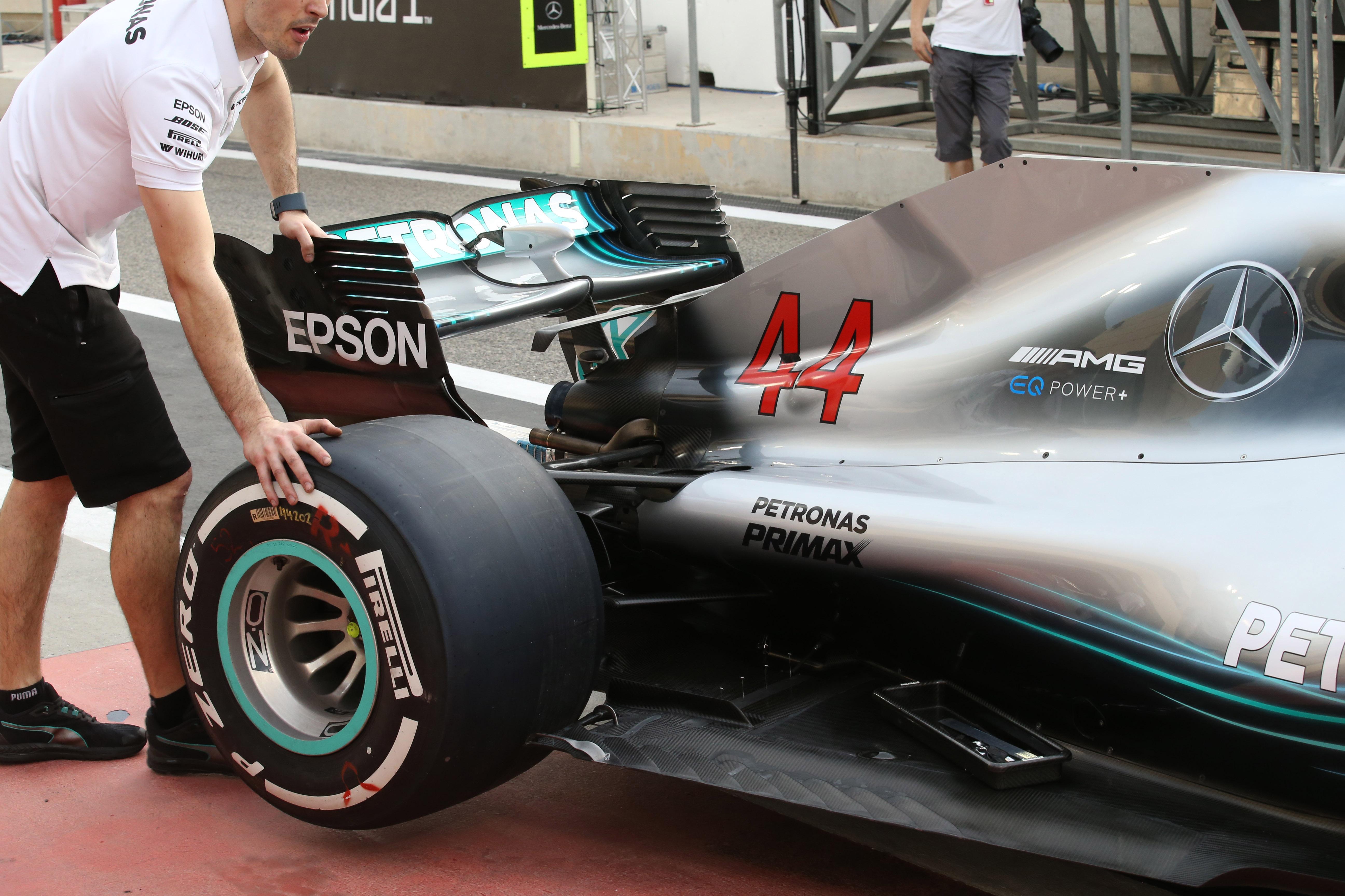 Mercedes, Lewis Hamilton, W09,