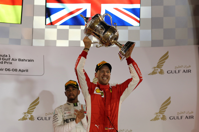 Sebastian Vettel, Lewis Hamilton,