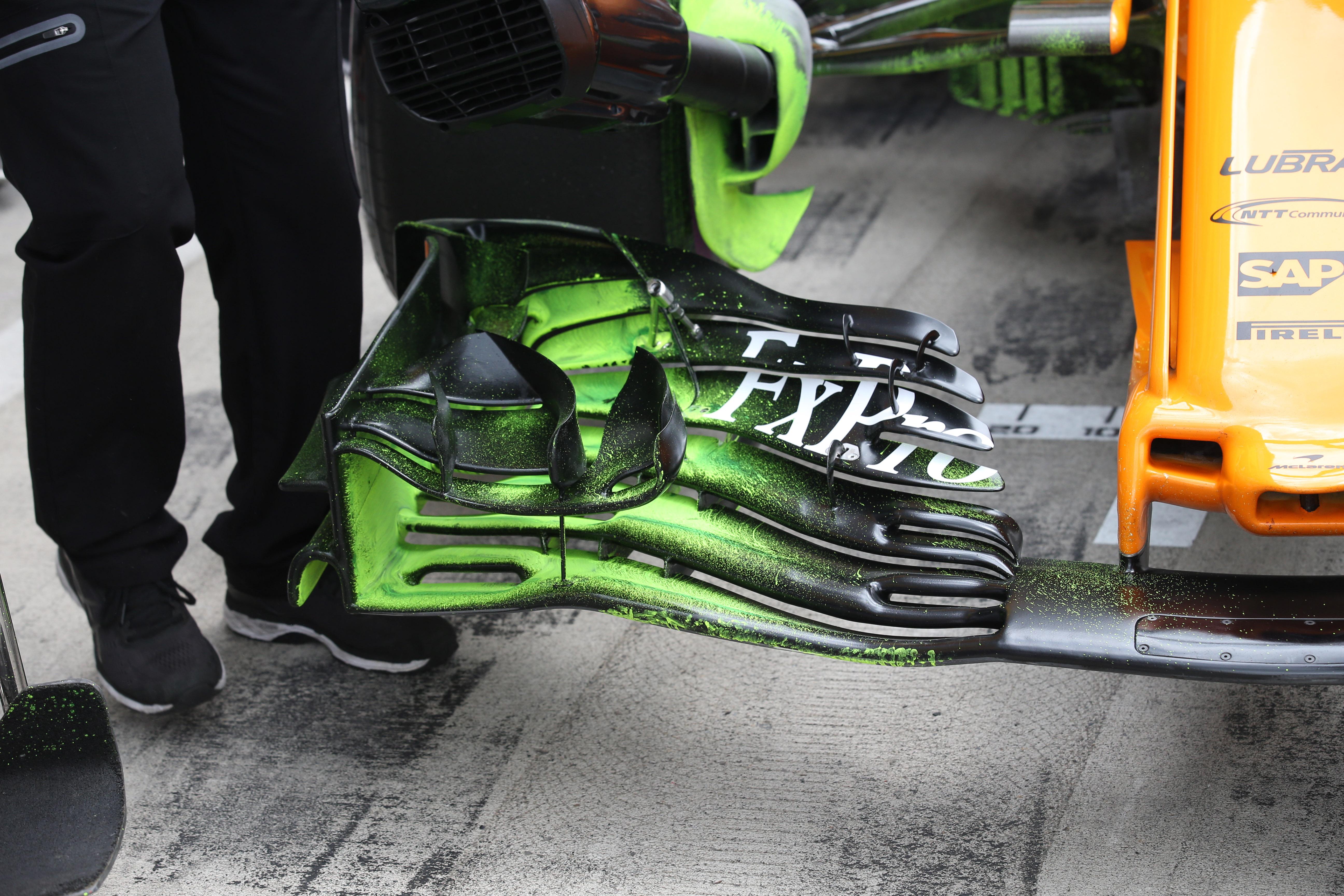 McLaren, MCL33, front wing,