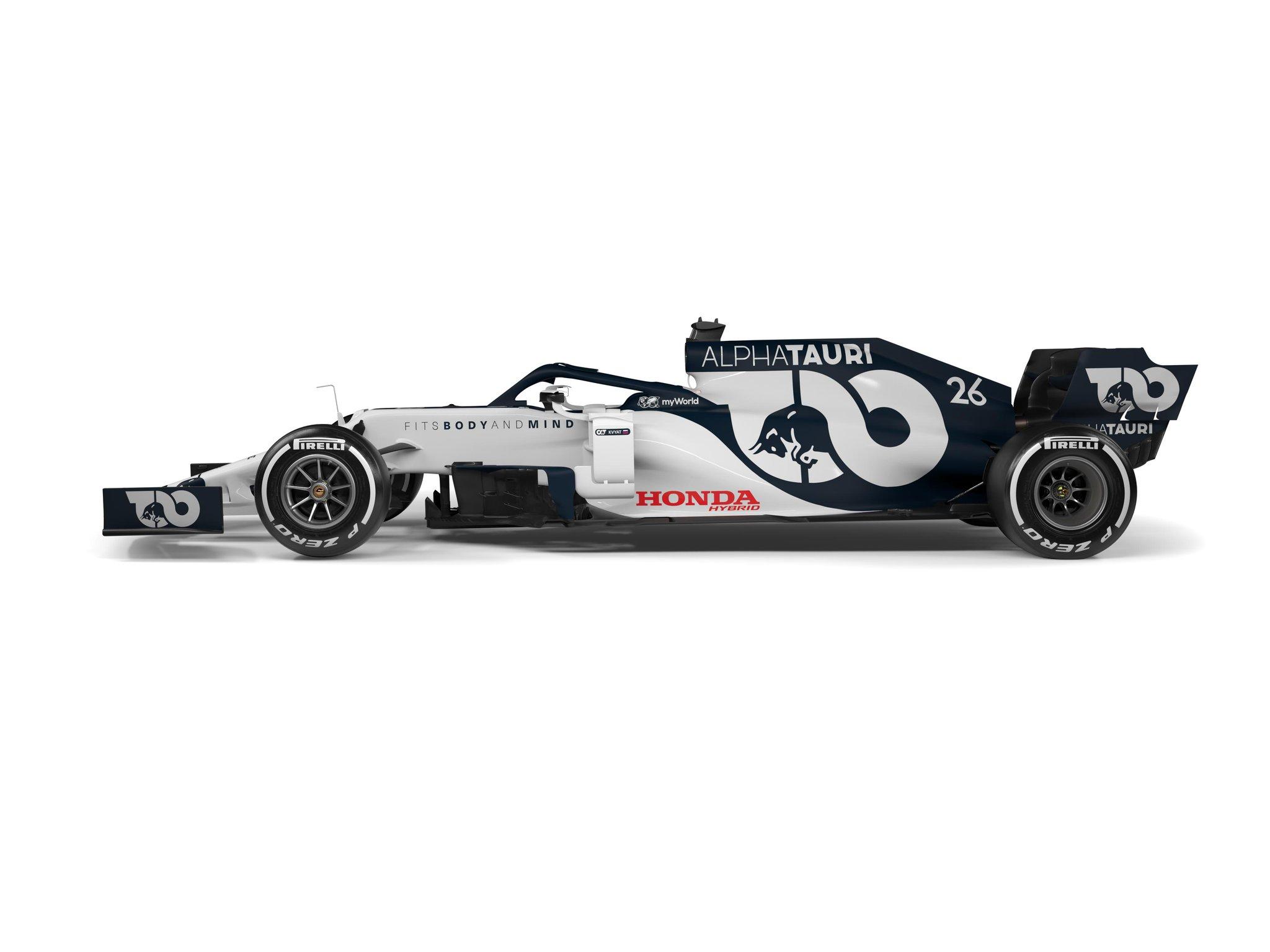 Alphatauri Presents At01 In Team S New F1 Era F1 News