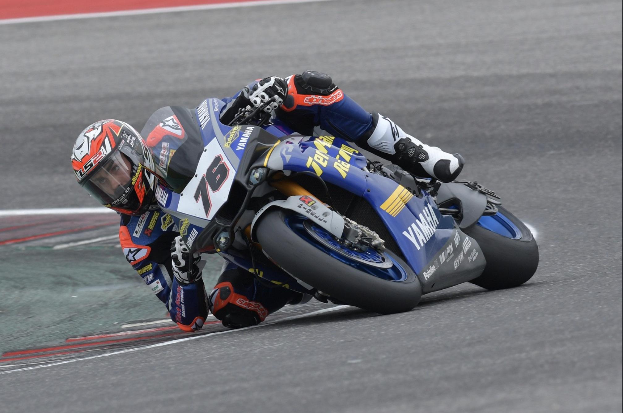 Loris Baz - Ten Kate Racing Yamaha WSBK