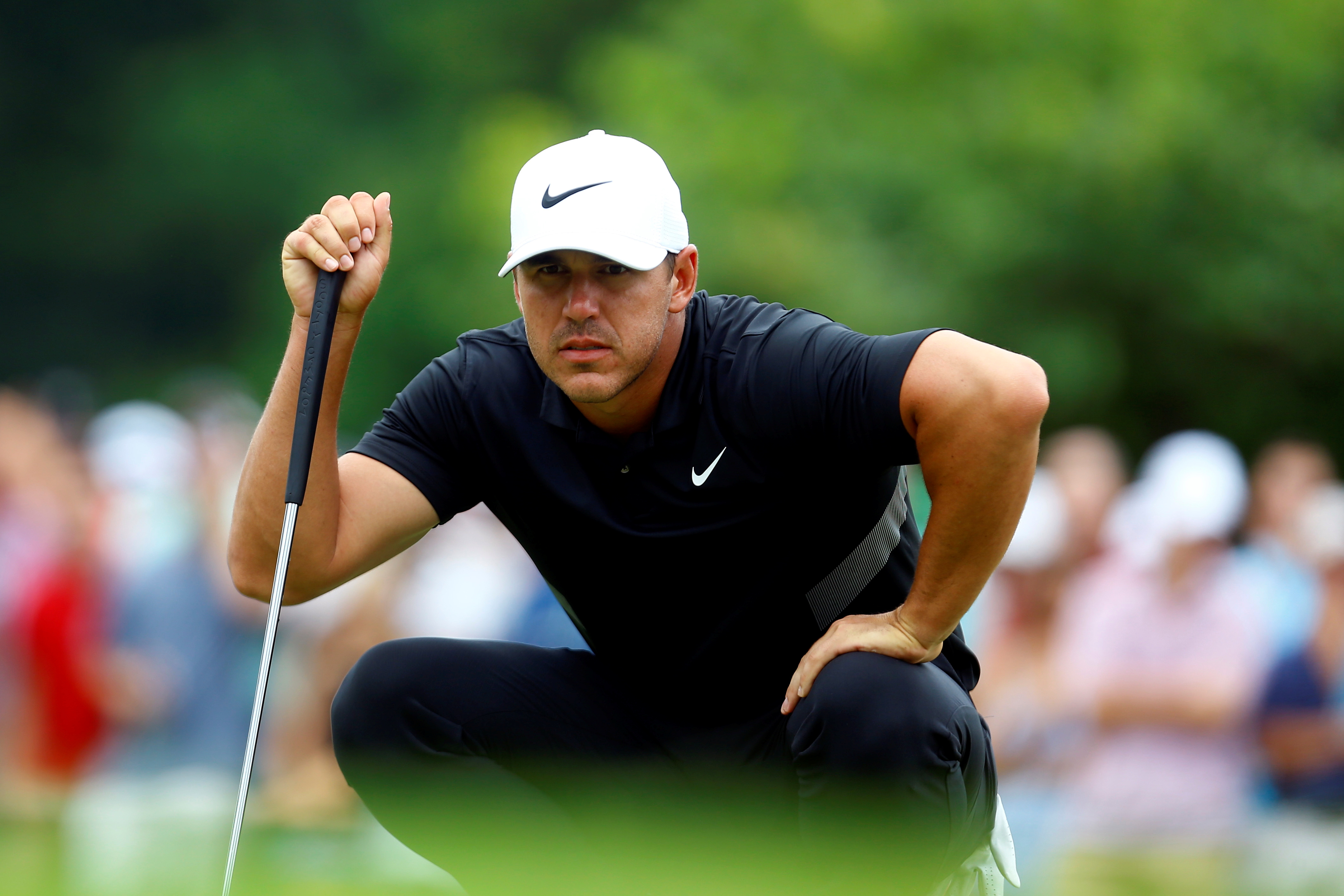 """Brooks Koepka told off for swearing, then replies: """"Well, fine me!"""""""