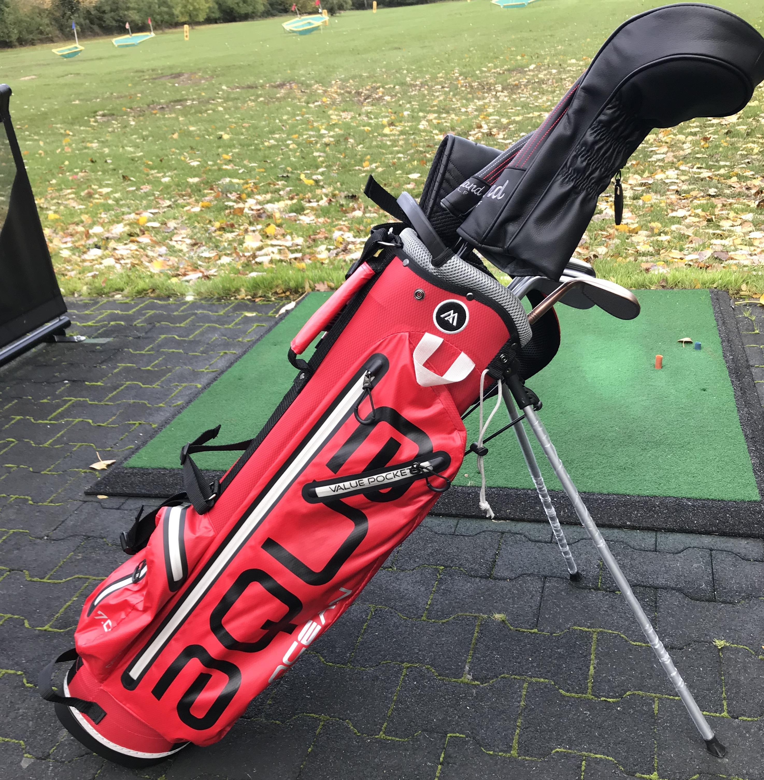 Big Max Aqua Ocean Golf Stand Bag Review