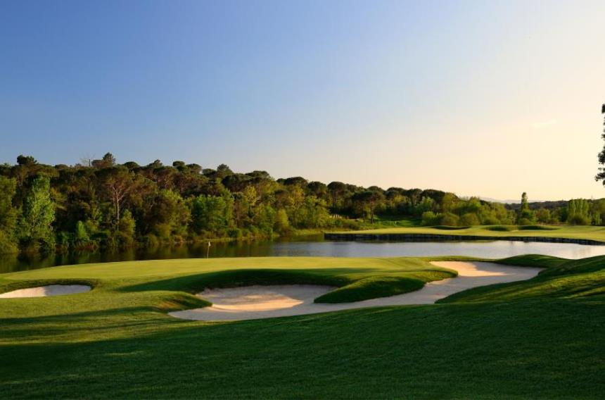 Best five golf courses in Spain
