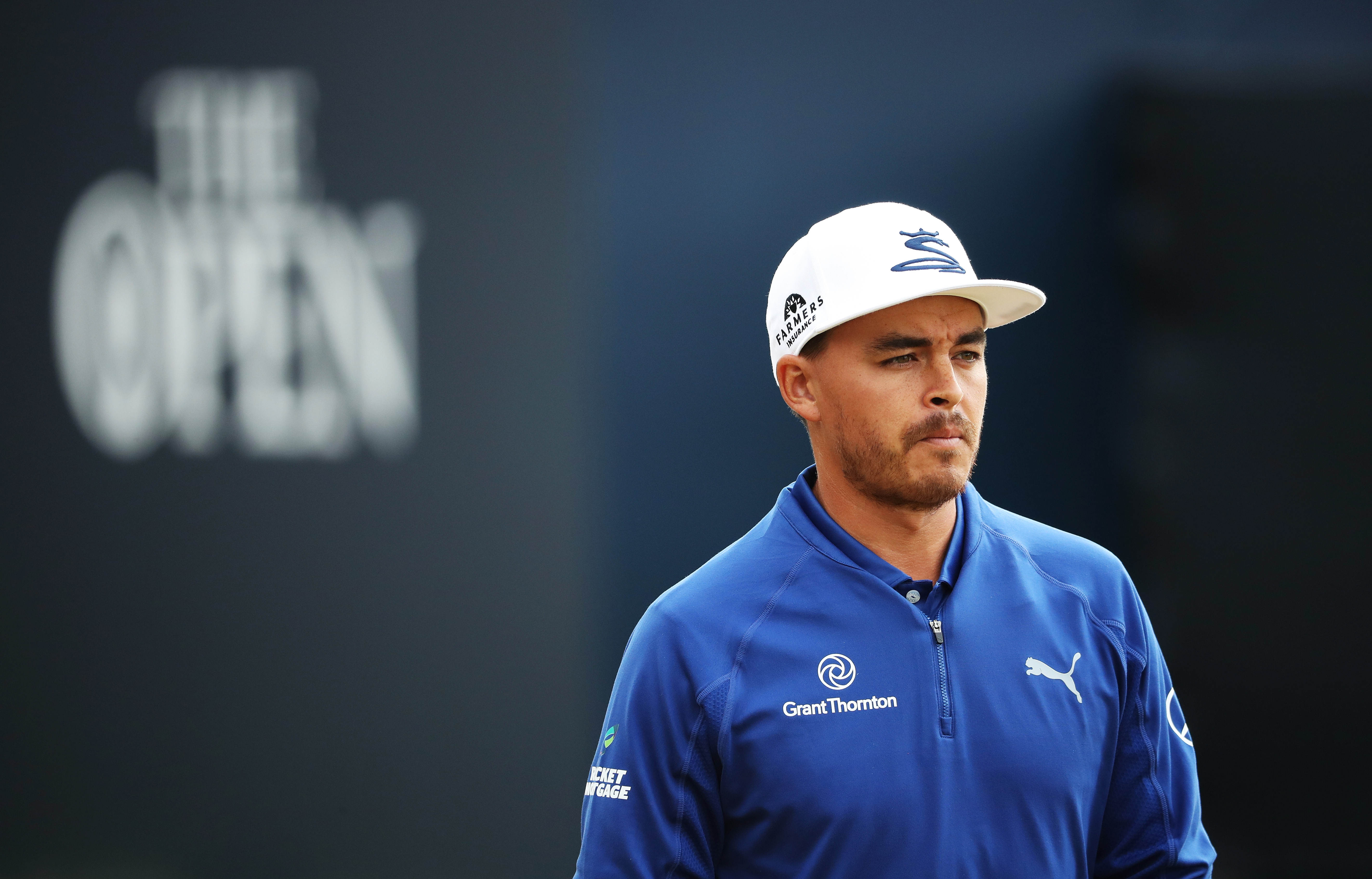 WINNER REVEALED! Rickie Fowler's limited edition Open stand bag