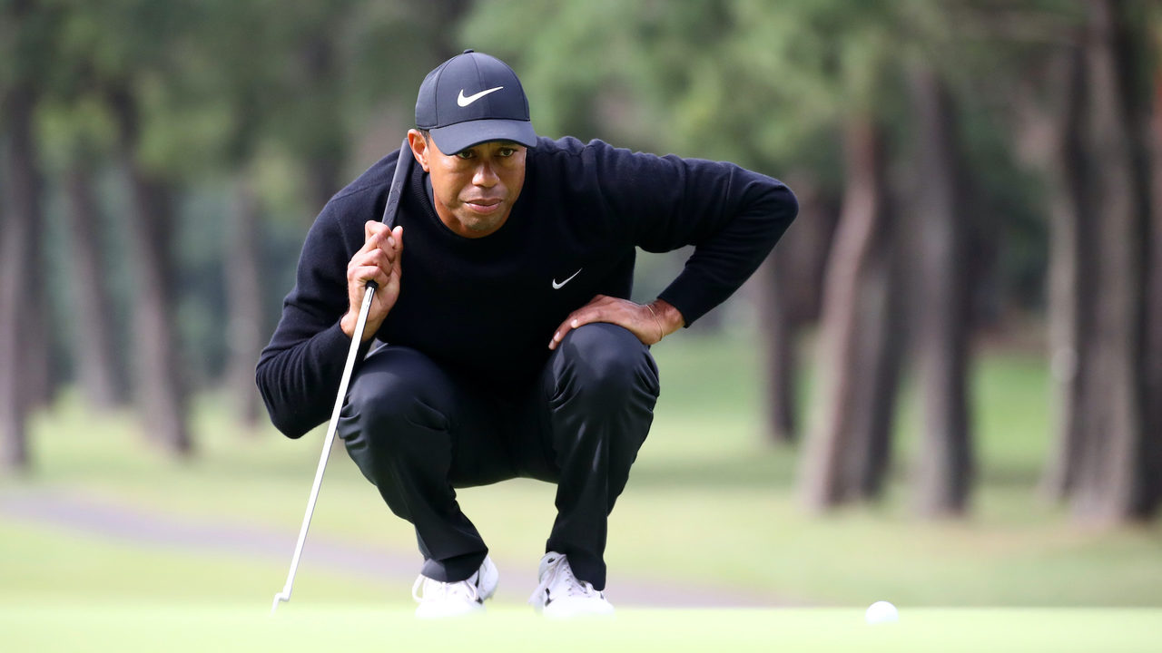 How do Tiger Woods' YARDAGES stack up against your own golf game?