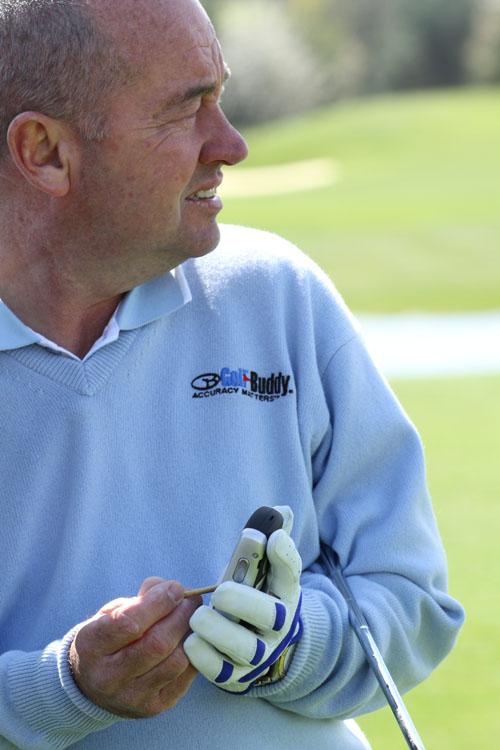 Denis Pugh - Golf Buddy ambassador