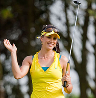 Maria Verchenova - Russia's highest ranked professional golfer