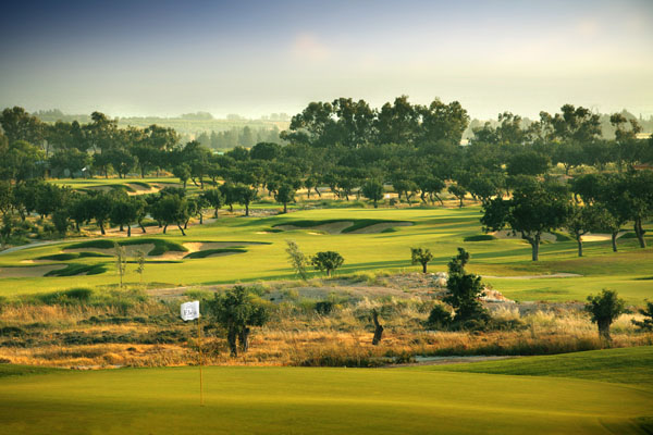 Stunning landscape at the Elea course