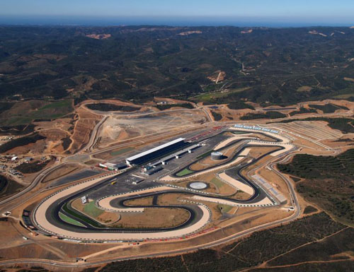 New race track at Portimao