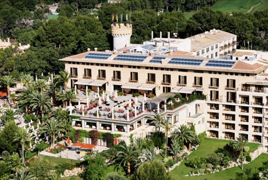 Stay at the Castillo Hotel Son Vida if you can