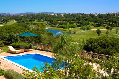 The luxurious Monte da Quinta resort