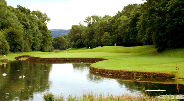 immaculate greens at Mount Juliet