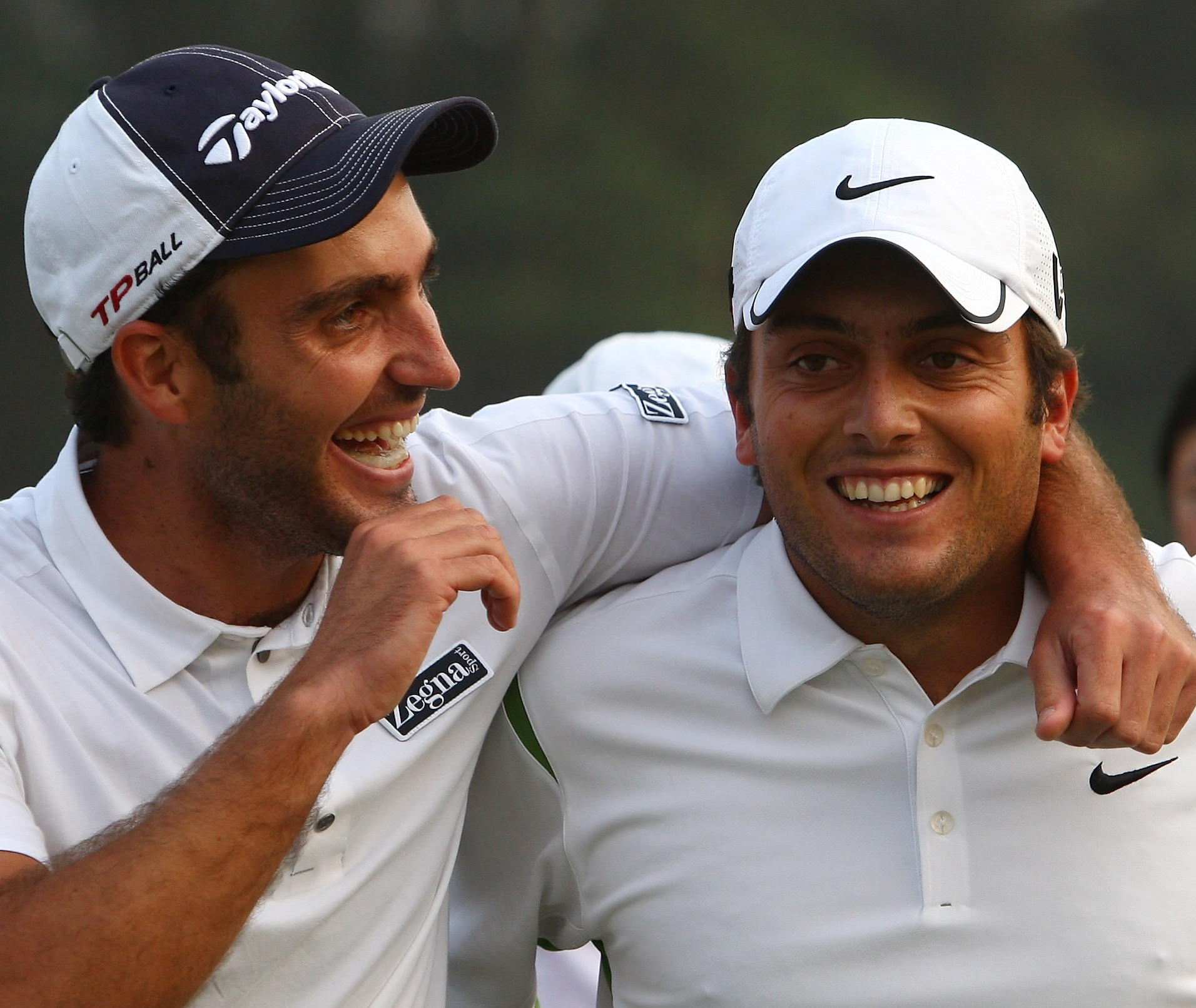 Brotherly love: Edoardo and Francesco Molinari defend the title for Italy