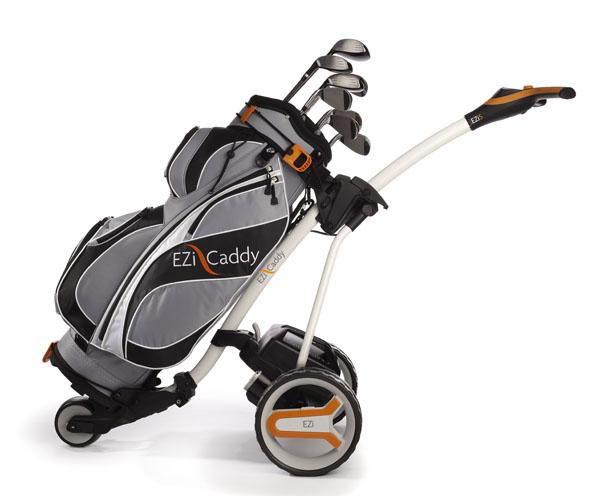EZiCaddy: New name in powered trolleys