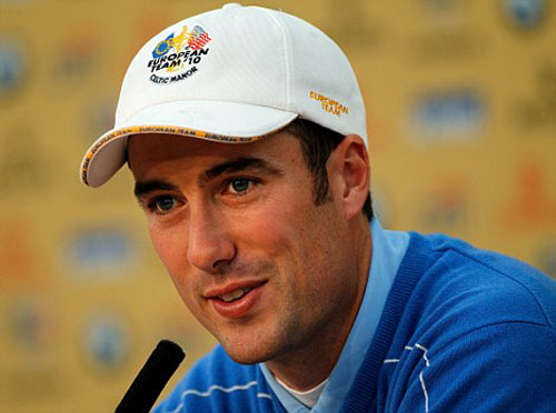 Fisher: keen for Ryder Cup spot