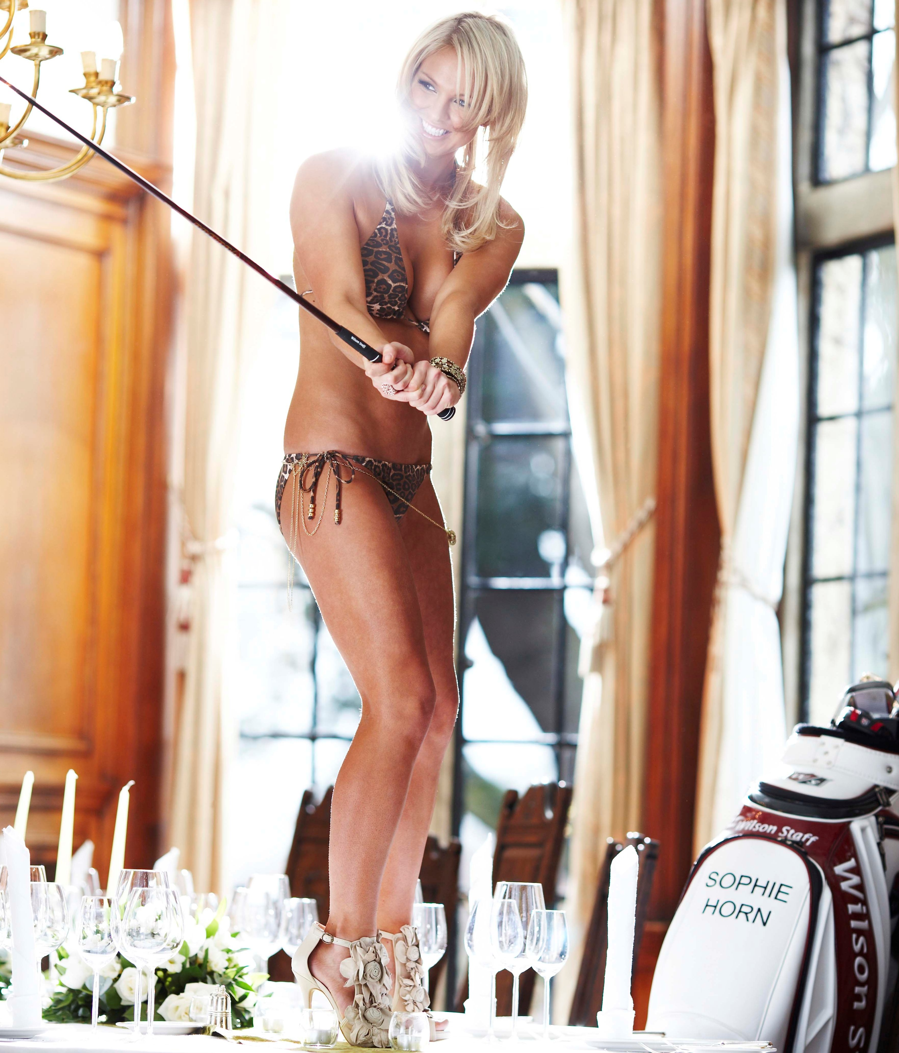 Horn was voted world's sexiest golfer