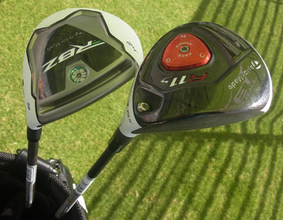 Latest woods for TaylorMade RocketBallz and R11 range