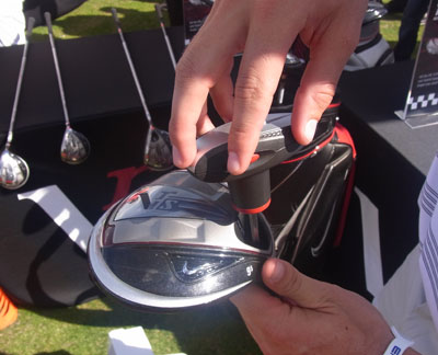 Adjustment to the 2012 Nike VR PRo driver