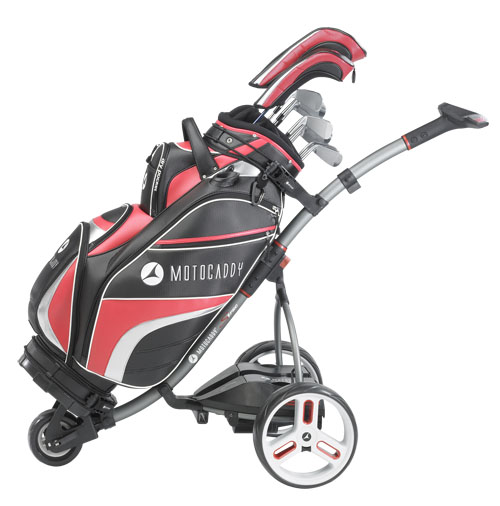 S1 Pro trolley from Motocaddy
