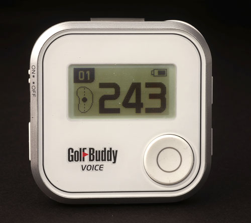 The golf Buddy Voice - less than two inches square