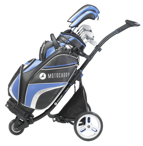 Power-free yardages from Motocaddy