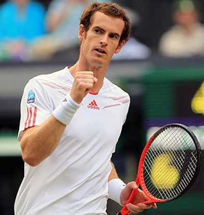 Andy Murray - a 15 or 16 golf handicap