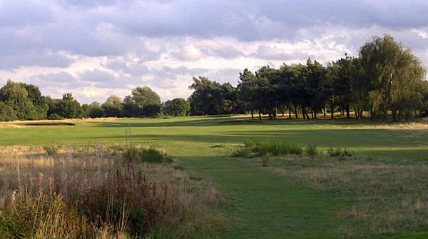 16th hole bordering Outney Common