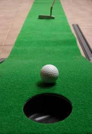 Fig.2: Indoor putting