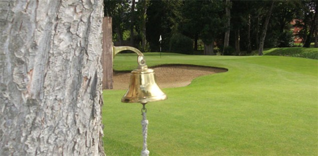 Use the bell at the 19th