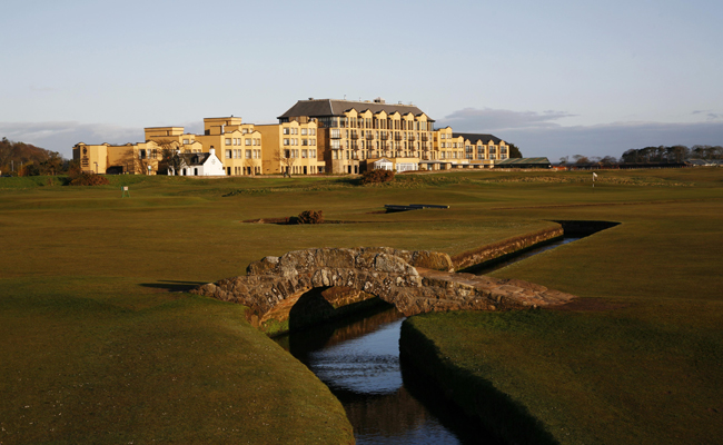 The most famous hotel and bridge in golf