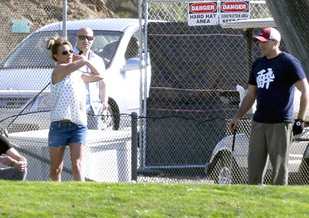 Golf leads to romance for Britney Spears