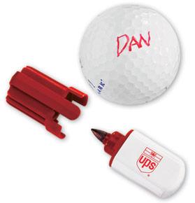 How do you mark YOUR golf ball?