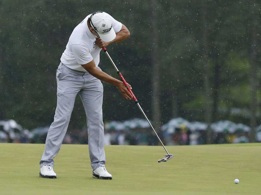 Woods wants anchored putter ban 'as soon as possible'