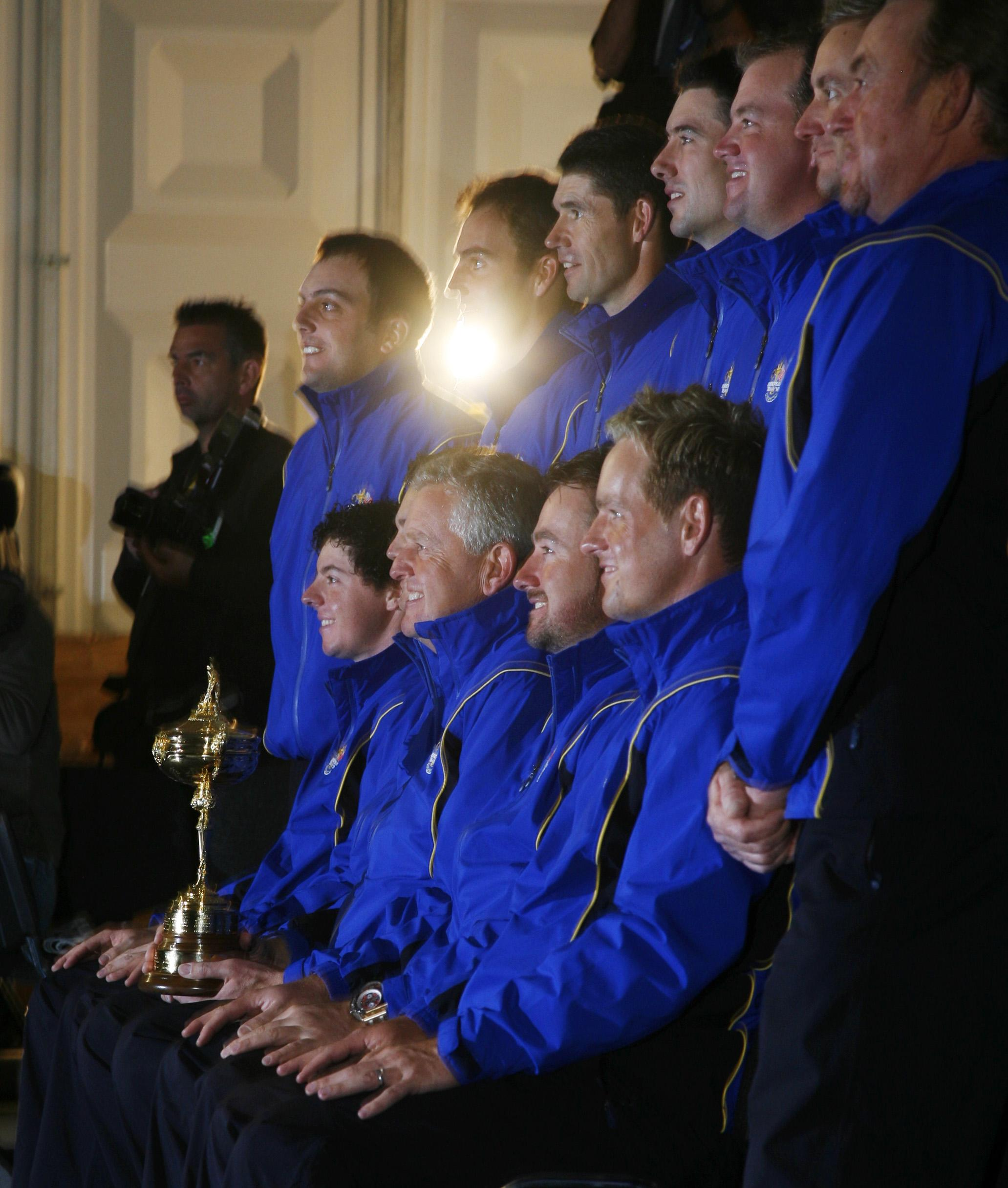 Great group of golfers: the European Ryder Cup Team
