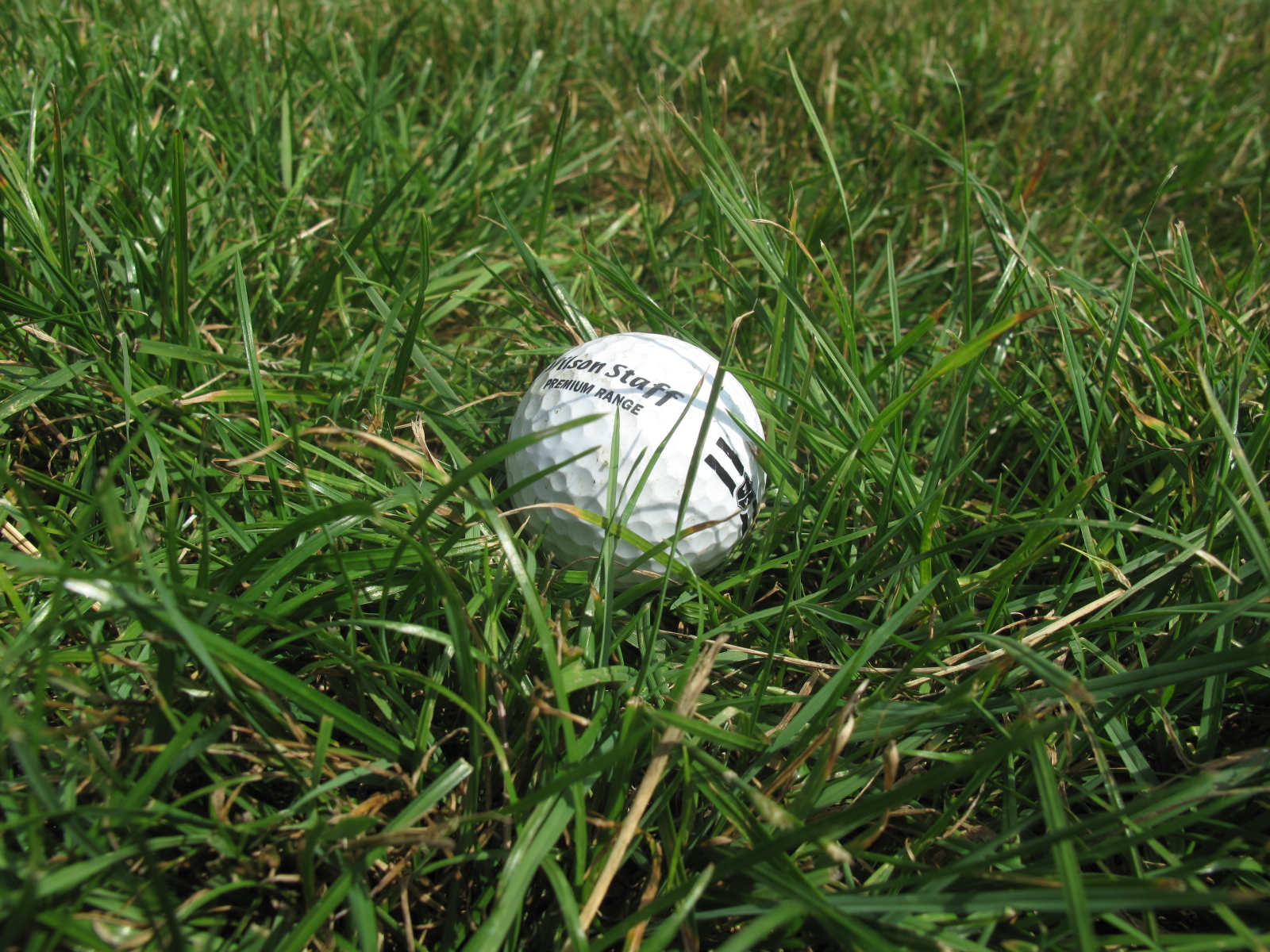 The flyer lie is where the ball is sat up in the grass. So how do you play this tough shot?