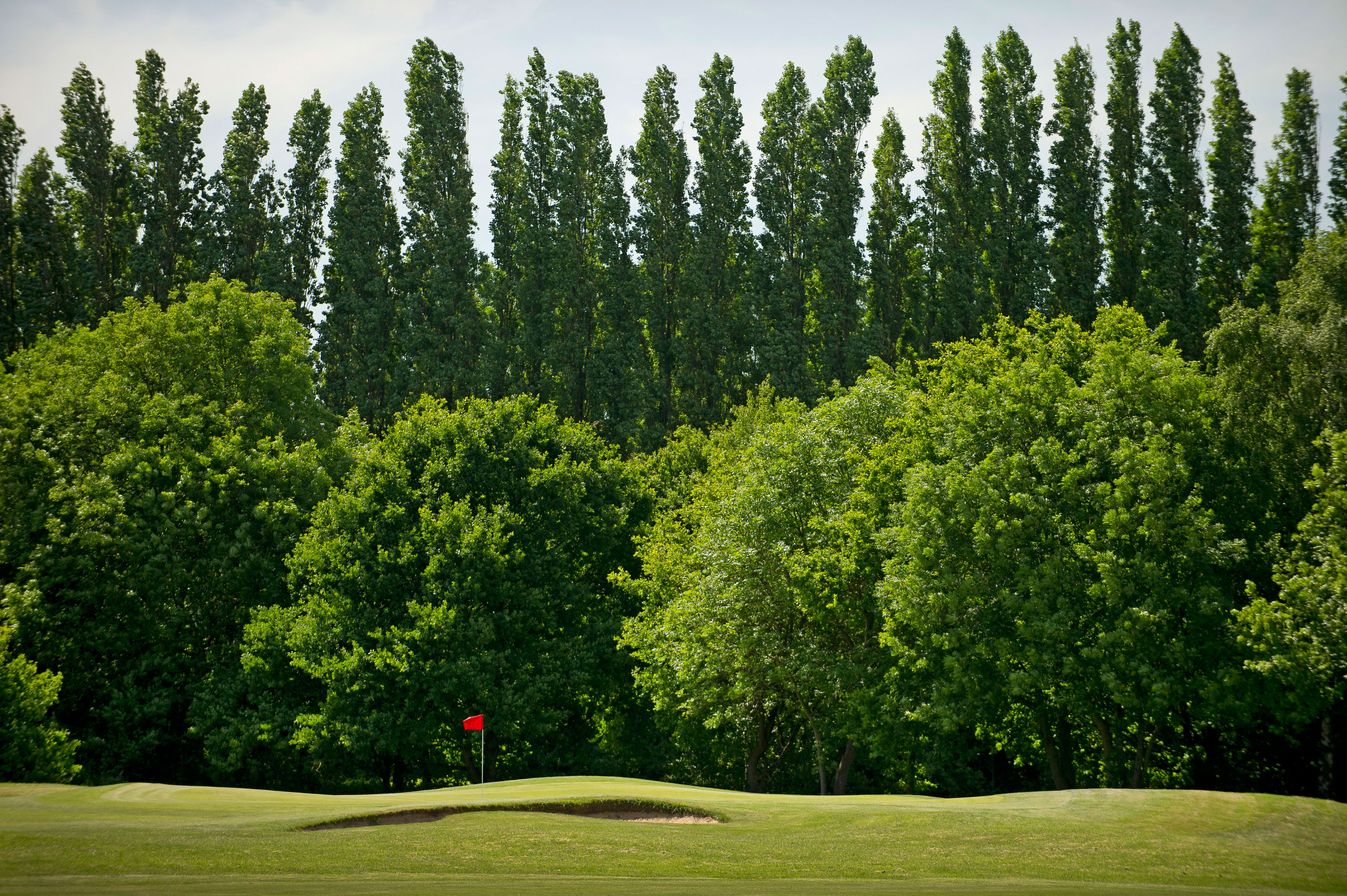 Hersham is a picturesque course