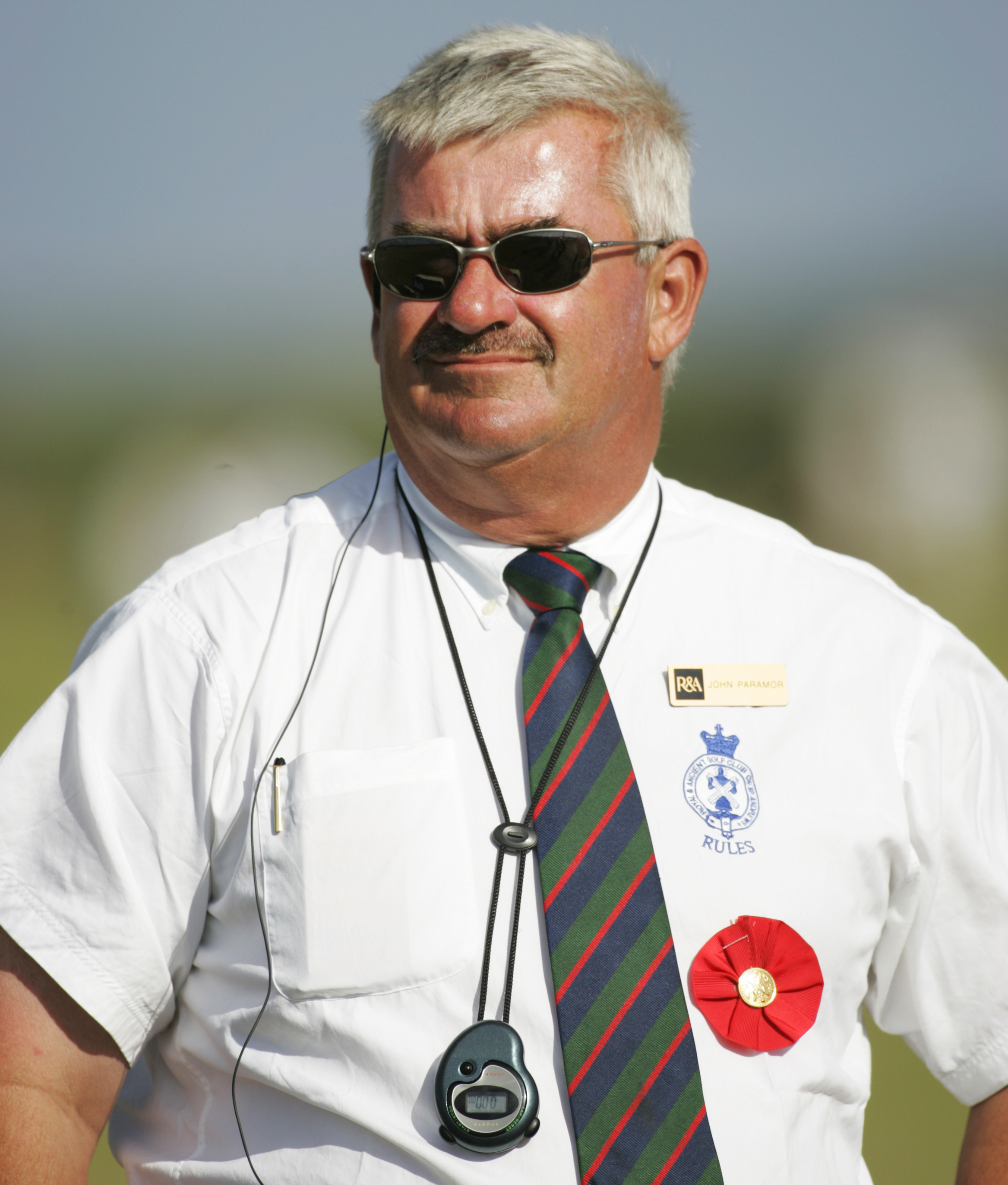 John Paramour is the European Tour's Chief Referee