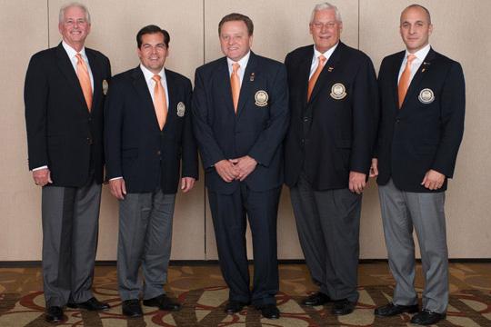 Members of the PGA's 2012 meeting