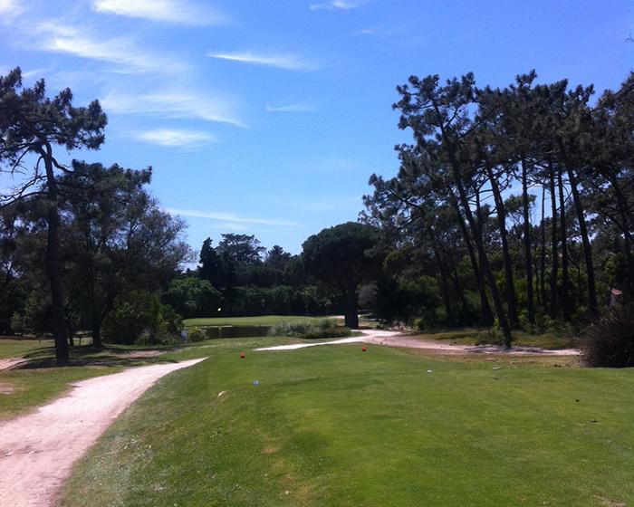 Par-3 2nd at Golf do Estoril