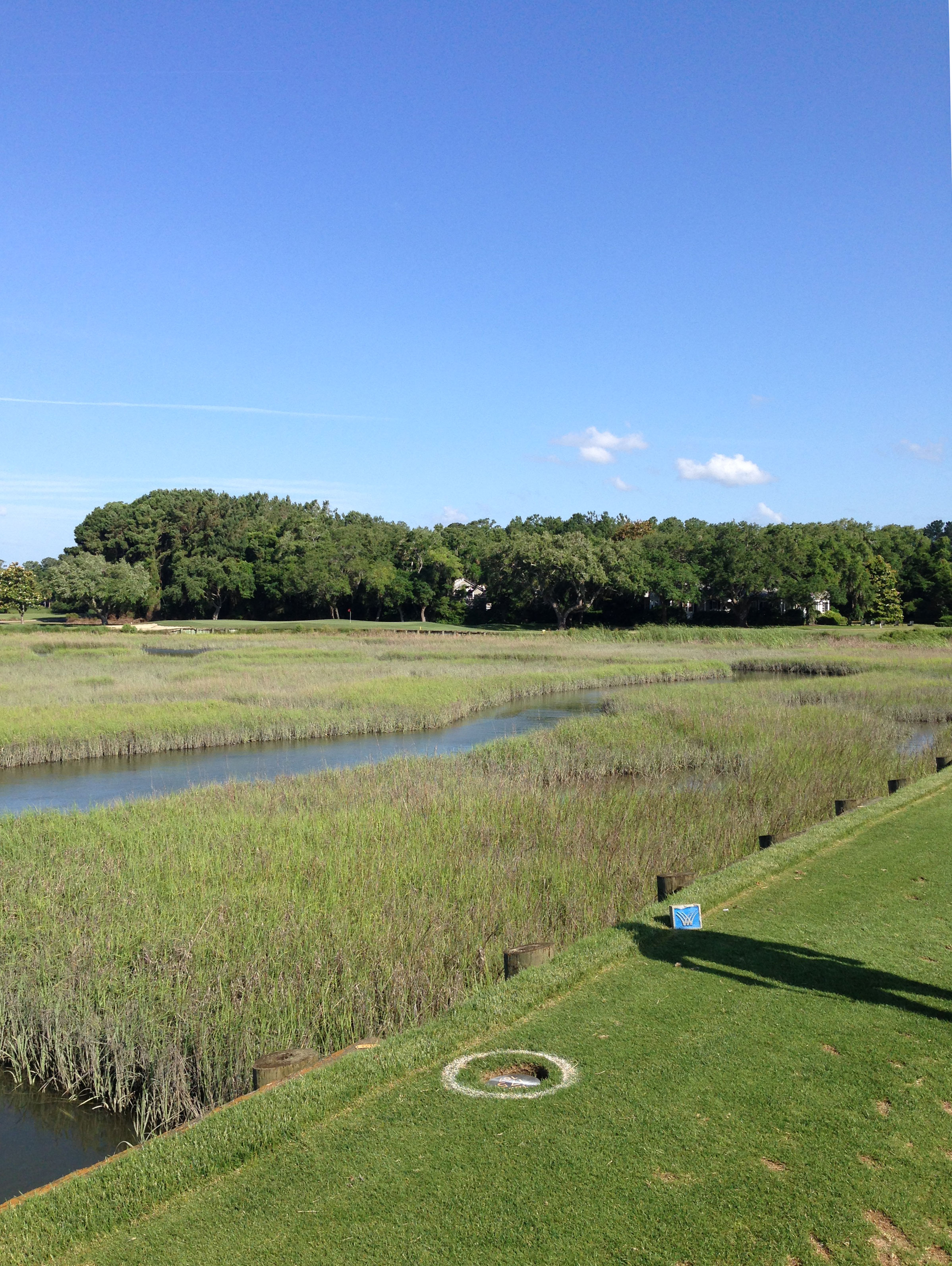 Tee of area at the 17th