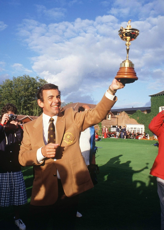 He also captained Europe to Ryder Cup victory in 1985