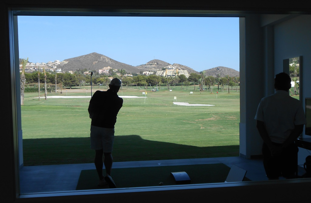 One of the studios at La Manga's new Leadbetter Academy