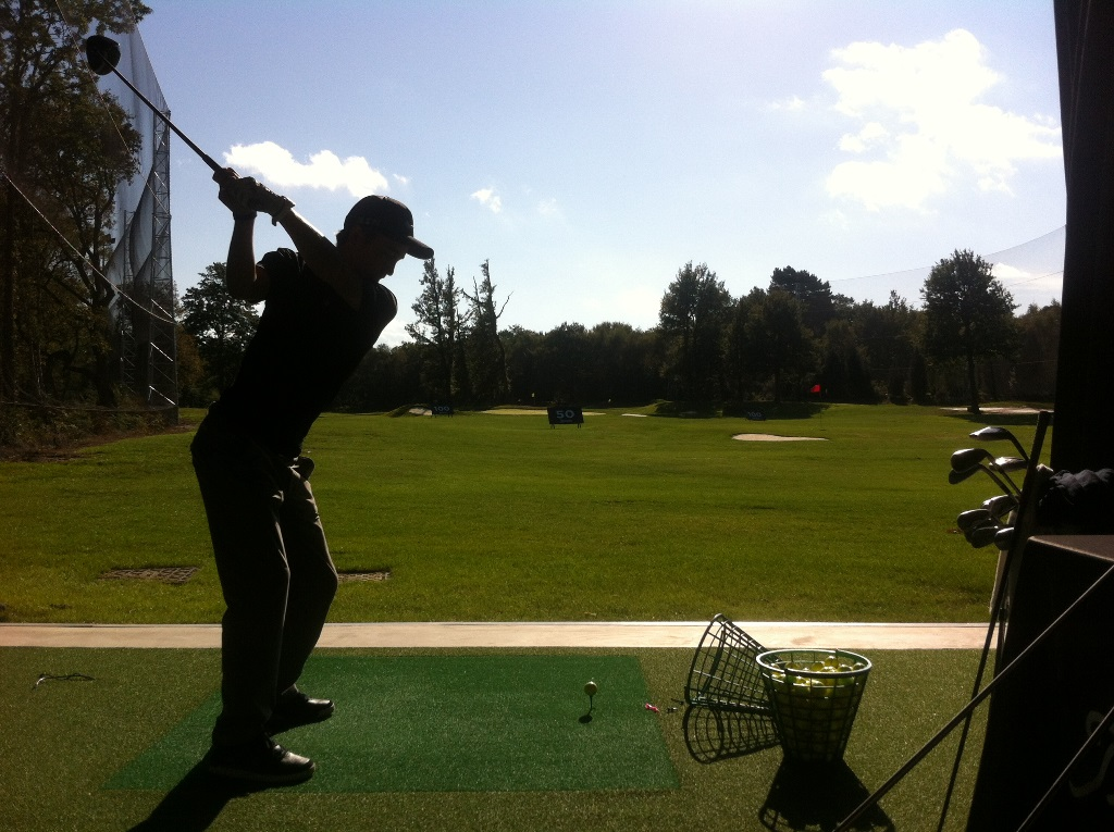 Andy favoured the Titleist 915 D3 driver