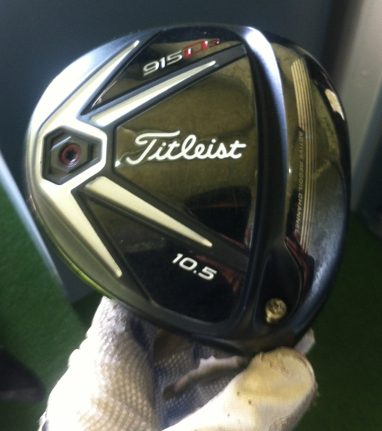 Andy was fitted to the Titleist 915 D3 driver