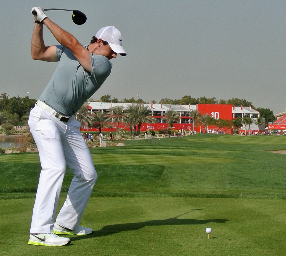 Rory McIlroy helped with the design process of the Nike Lunar Control 3