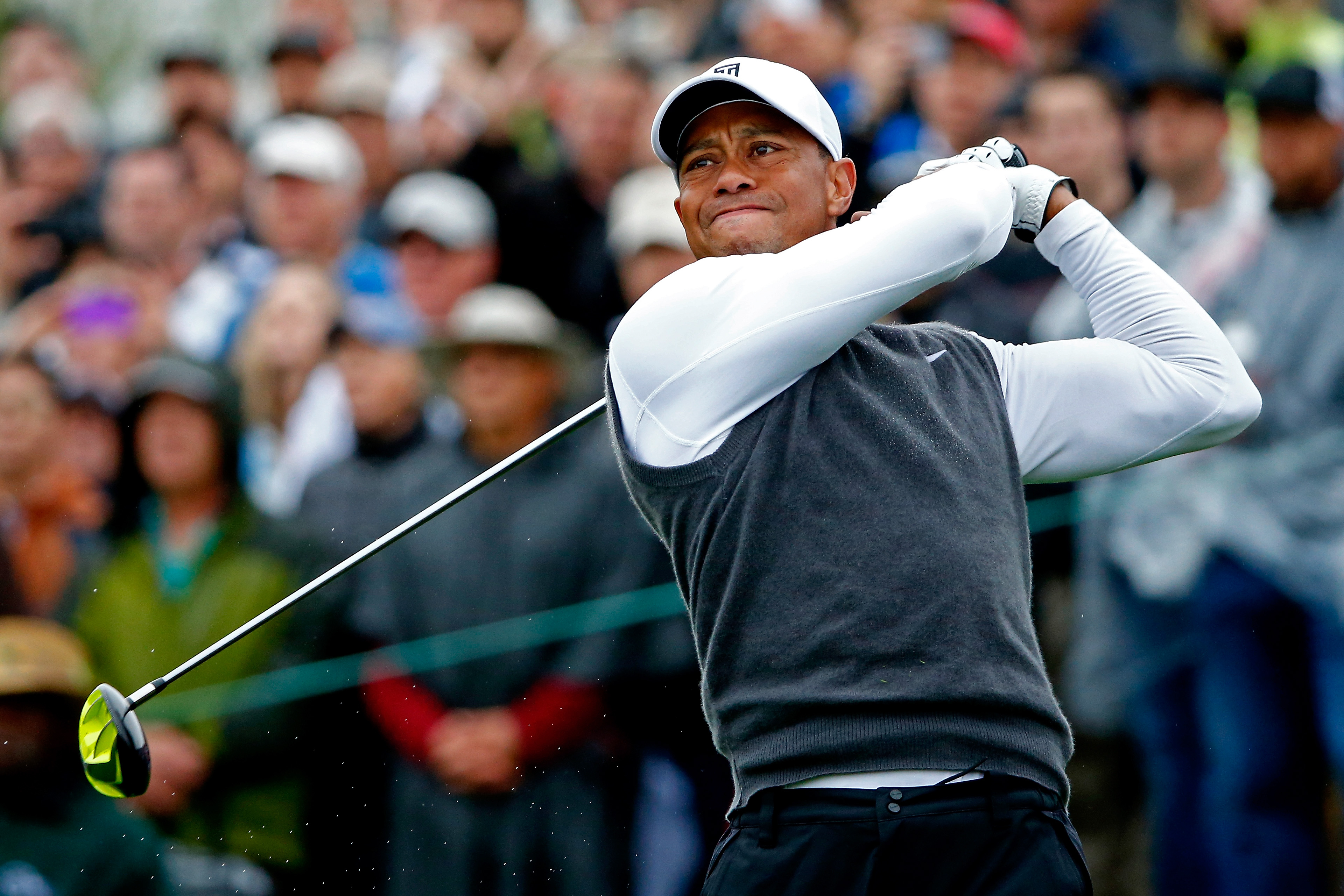 Tiger Woods plays the Waste Management Phoenix Open (Photo: Getty Images)