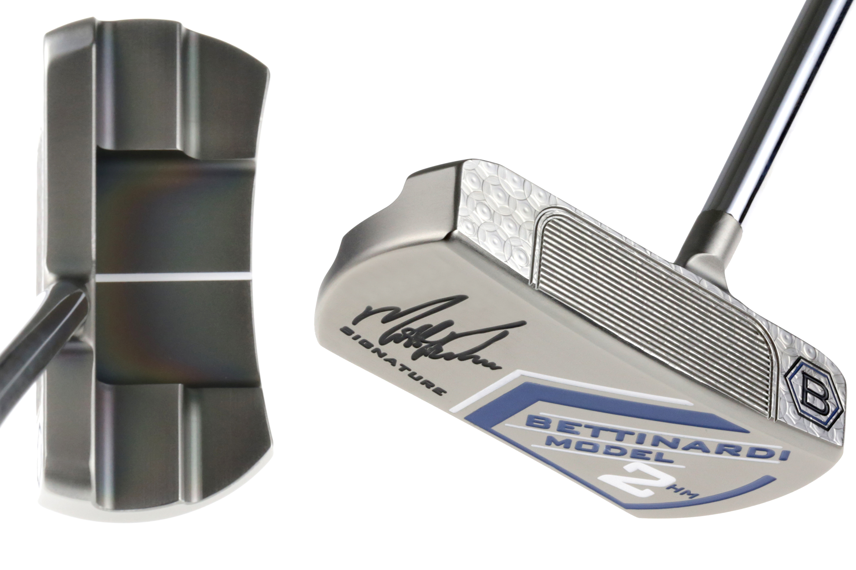 The Kuchar Model 2 is the first centre-shafted Arm Lock putter on the market
