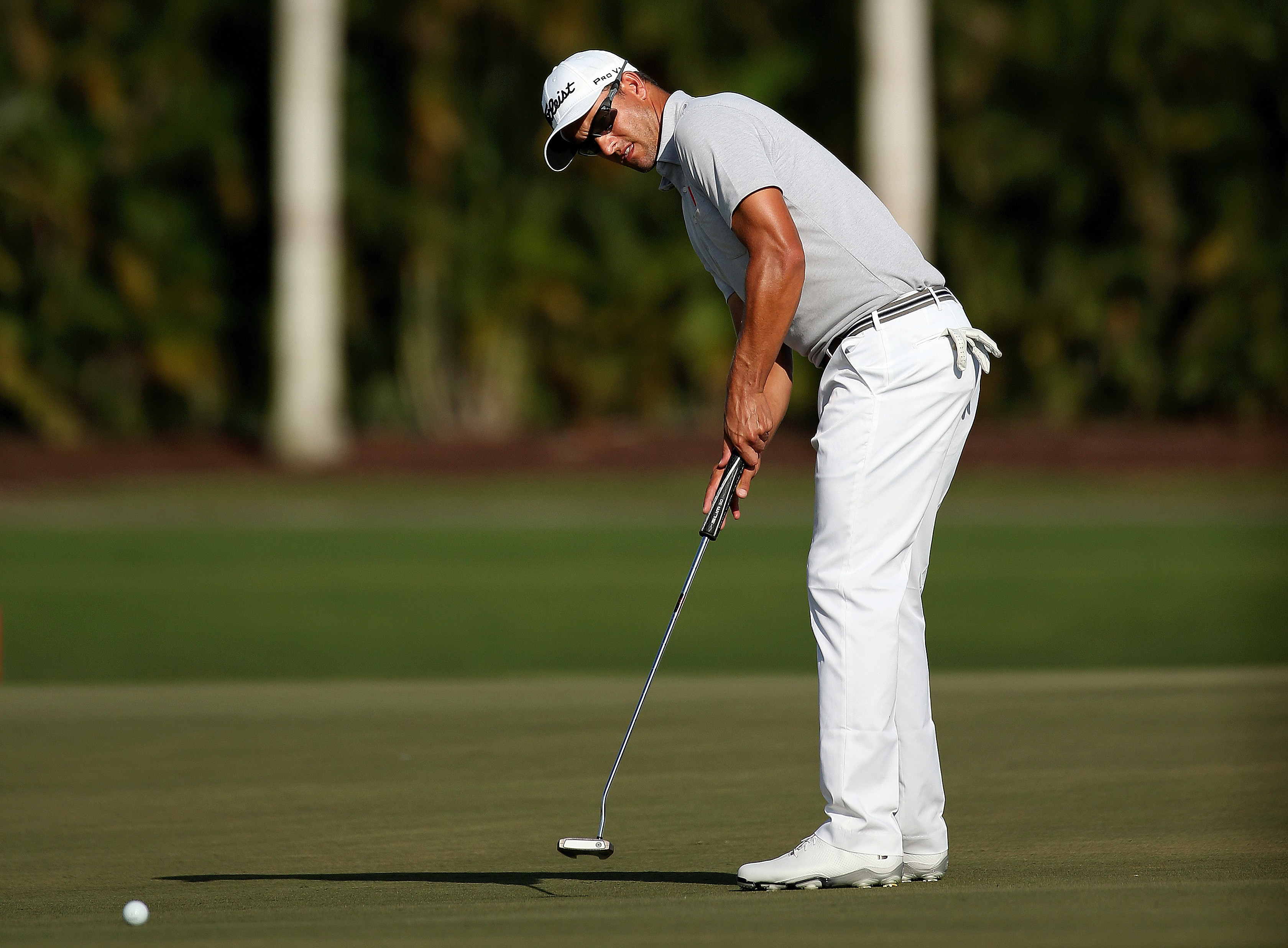 Adam Scott won the 2012 Masters with an anchored putter in the bag (Photo: Getty Images)